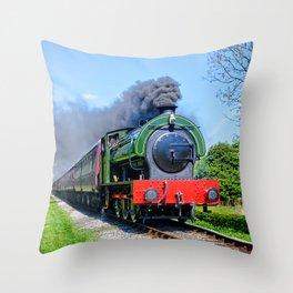 Lord Phil steam train Throw Pillow