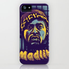 Madlib ( Top 10 Producers series ) iPhone Case