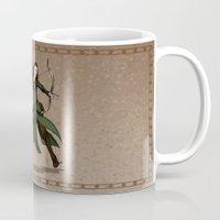 legolas Mugs featuring Pure Elven Elegance by wolfanita