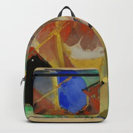 """Franz Marc """"Tiger in the Jungle"""" Backpack"""
