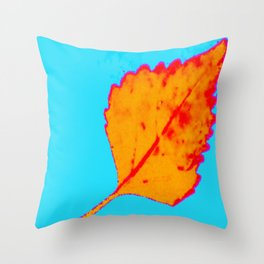 BE LIKE A LEAF #10 Throw Pillow