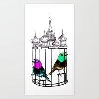 KGBirds Art Print