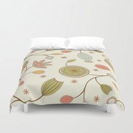 Mehndi Flower Duvet Cover