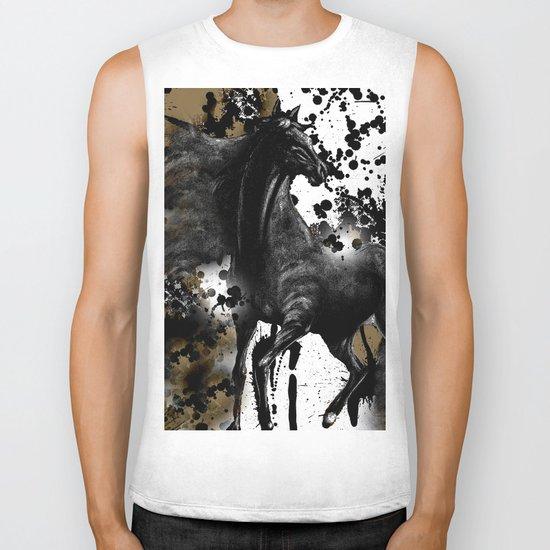 HORSE AND THUNDER Biker Tank