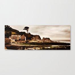 Lee Bay North Devon Canvas Print