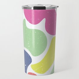 Summer blob Travel Mug