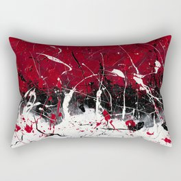 Groove In The Fire Rectangular Pillow