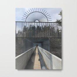 Bridge to Lake Arrowhead Metal Print