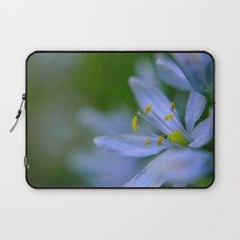 Purple Summer Flower Laptop Sleeve