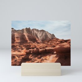 Unusual Rock Formations at Kodachrome Park, Utah Mini Art Print