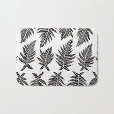 Inked Ferns – Black Palette Bath Mat