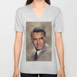 Cary Grant, Hollywood Legend Unisex V-Neck