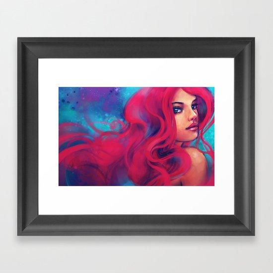 Daughter of Triton Framed Art Print