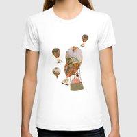 hot air balloon T-shirts featuring Hot Air Balloon Dream by KarenHarveyCox