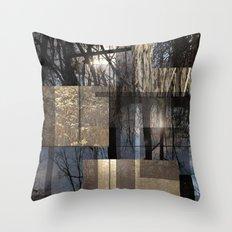Sun Forest Throw Pillow