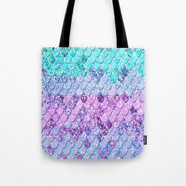 Mermaid Scales with Unicorn Girls Glitter #9 #shiny #decor #art #society6 Tote Bag