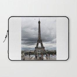 I Love Paris In The Rain Laptop Sleeve
