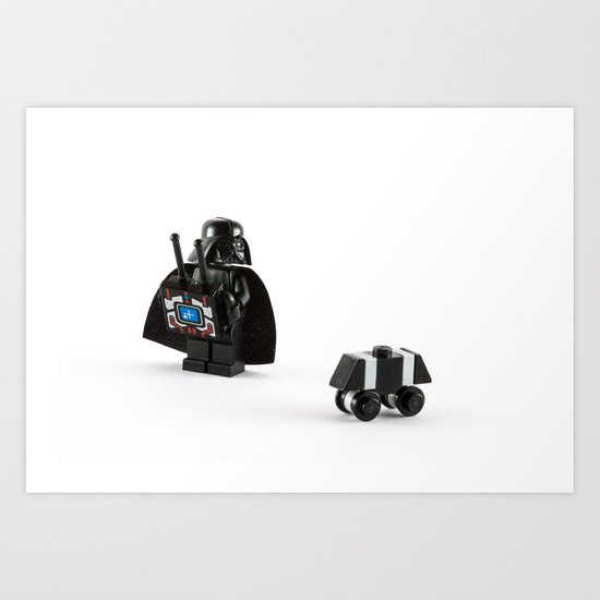Vader's New Toy Art Print