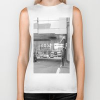 stephen king Biker Tanks featuring Stephen Avenue by RMK Creative