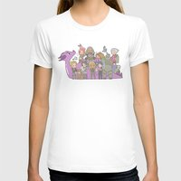 dragon age T-shirts featuring Dragon Age - Origins Companions by Choco-Minto