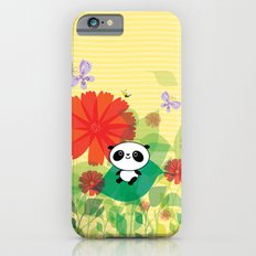 panda and flowers Slim Case iPhone 6s
