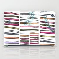 swimming iPad Cases featuring Swimming by Lidia Ganhito