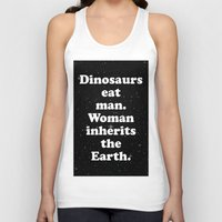 dinosaurs Tank Tops featuring dinosaurs by MelleNora