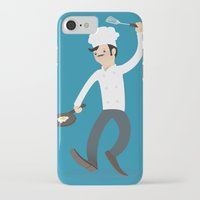 chef iPhone & iPod Cases featuring Chef by bluespore