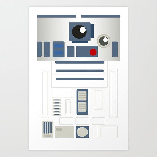 StarWars - R2D2 Art Print