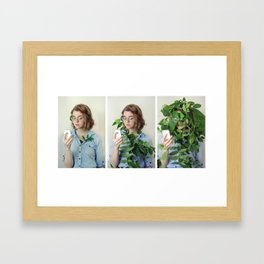Distracted Youth Framed Art Print