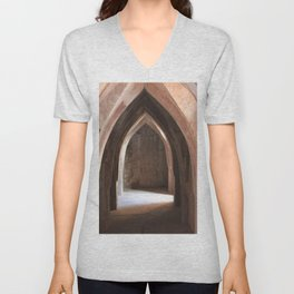 In the catacombs Unisex V-Neck