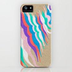 rainbow waves iPhone (5, 5s) Slim Case