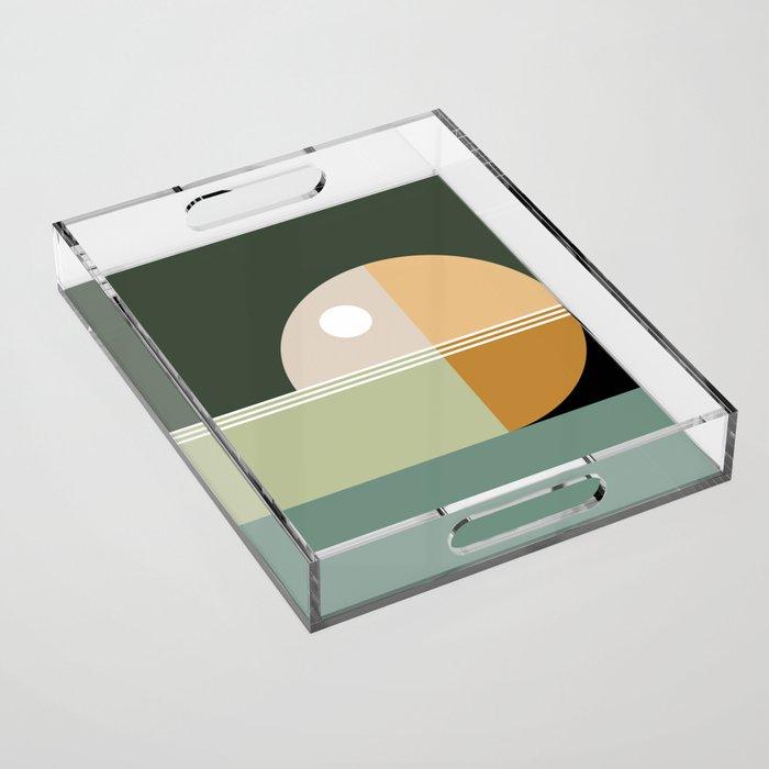 Contemporary 47 Acrylic Tray