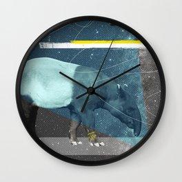 tapirism two Wall Clock