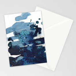 It's a windy day on the beach today. Stationery Cards