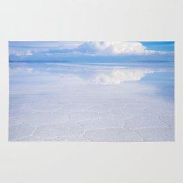 Salar de Uyuni desert, Bolivia Rug