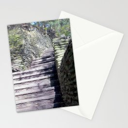 Stairs to Happiness Stationery Cards
