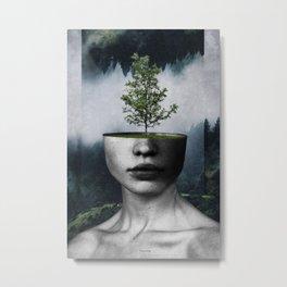 Tree lady Metal Print