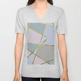 sweet geometric Unisex V-Neck