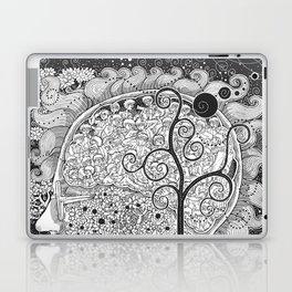 The White Noise Laptop & iPad Skin