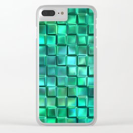 Abstract 215 Clear iPhone Case
