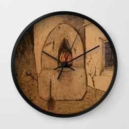 Traditional Moroccan Oven Wall Clock