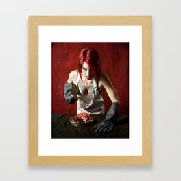butcheress Framed Art Print