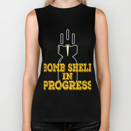Funny and hilarious tee with creative and fabulous design made specially for you. Makes a nice gift! Biker Tank