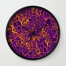 Sunset Leo Wall Clock