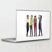 ombre Laptop & iPad Skins featuring Ombre by Wild days