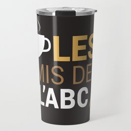 Les Amis Coffee Travel Mug