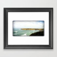 Australia's South Coast Framed Art Print