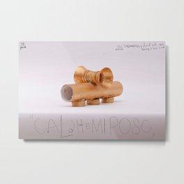 Caldhemiposc  Metal Print