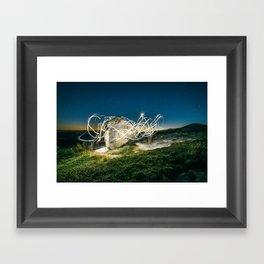 Alien Vibe Framed Art Print